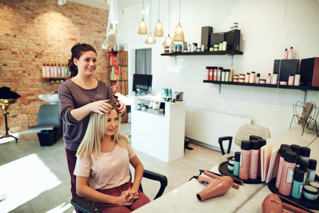 color organizers for salons