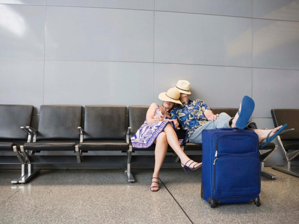Stuck at the Airport? Here's a Flight Delay Survival Guide